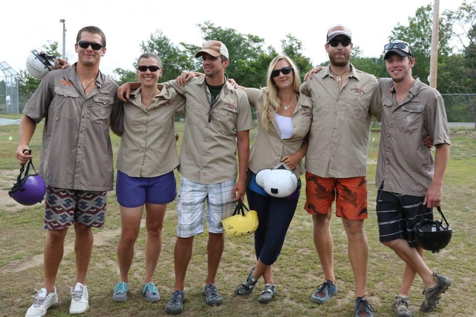Adirondac Guides posing together