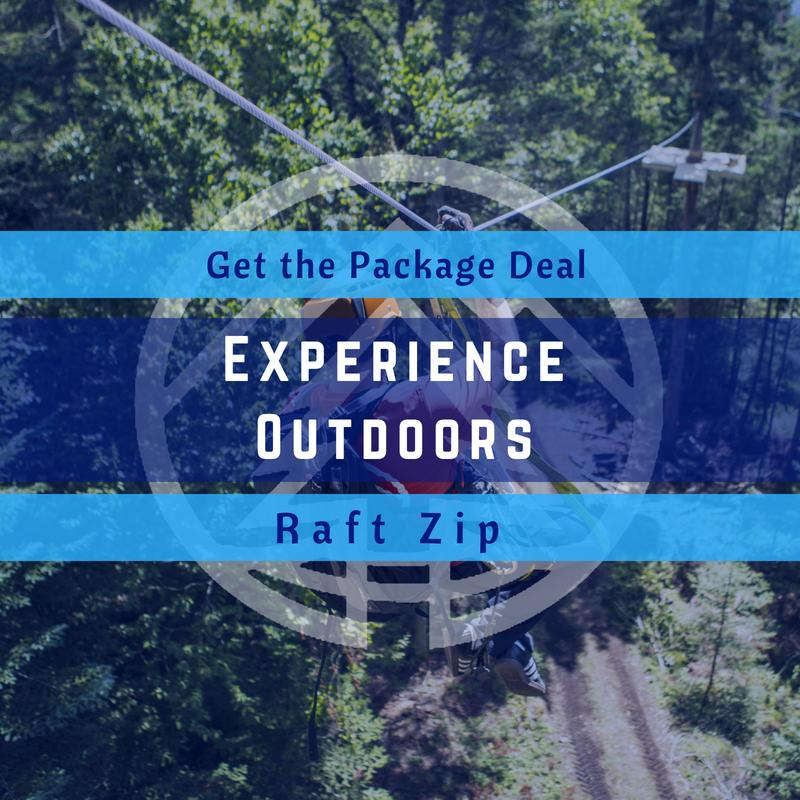 Experience Outdoors Package Deal logo